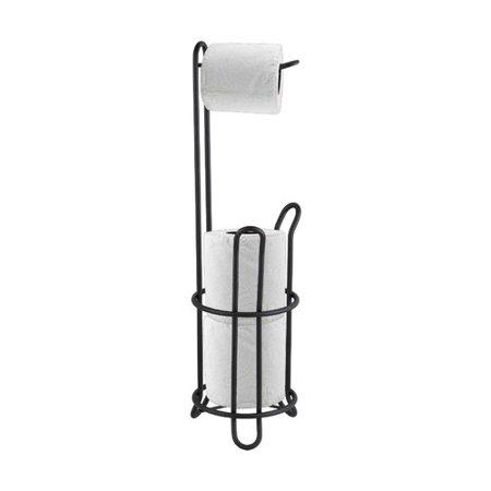 - Home Basics Black Onyx Toilet Paper Holder