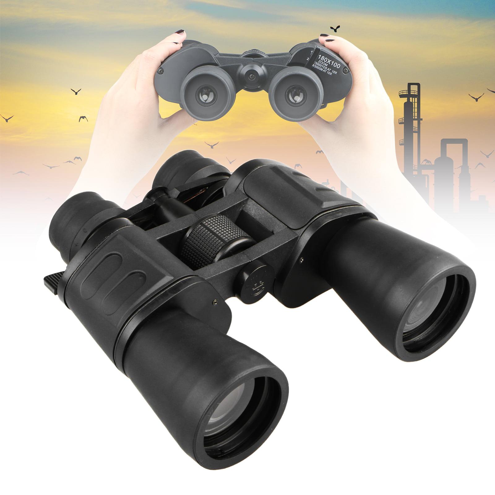Quick Focus Binoculars, EEEKit 180x100 Waterproof Wide Angle Telescope with Low Night Vision for Outdoor Hunting, Camping, Bird Watching, Traveling