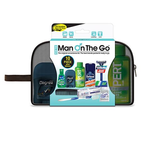 Hygiene Bag (Man on the Go Hygiene Kit featuring Barbasol )