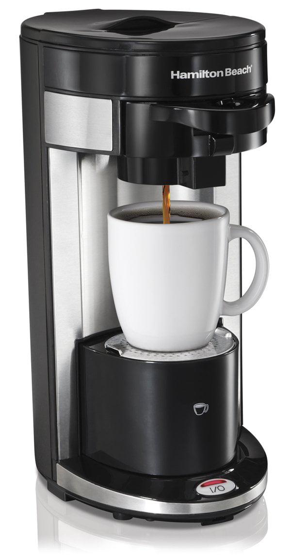 Hamilton Beach FlexBrew Single Serve Ground KCup Coffee Maker