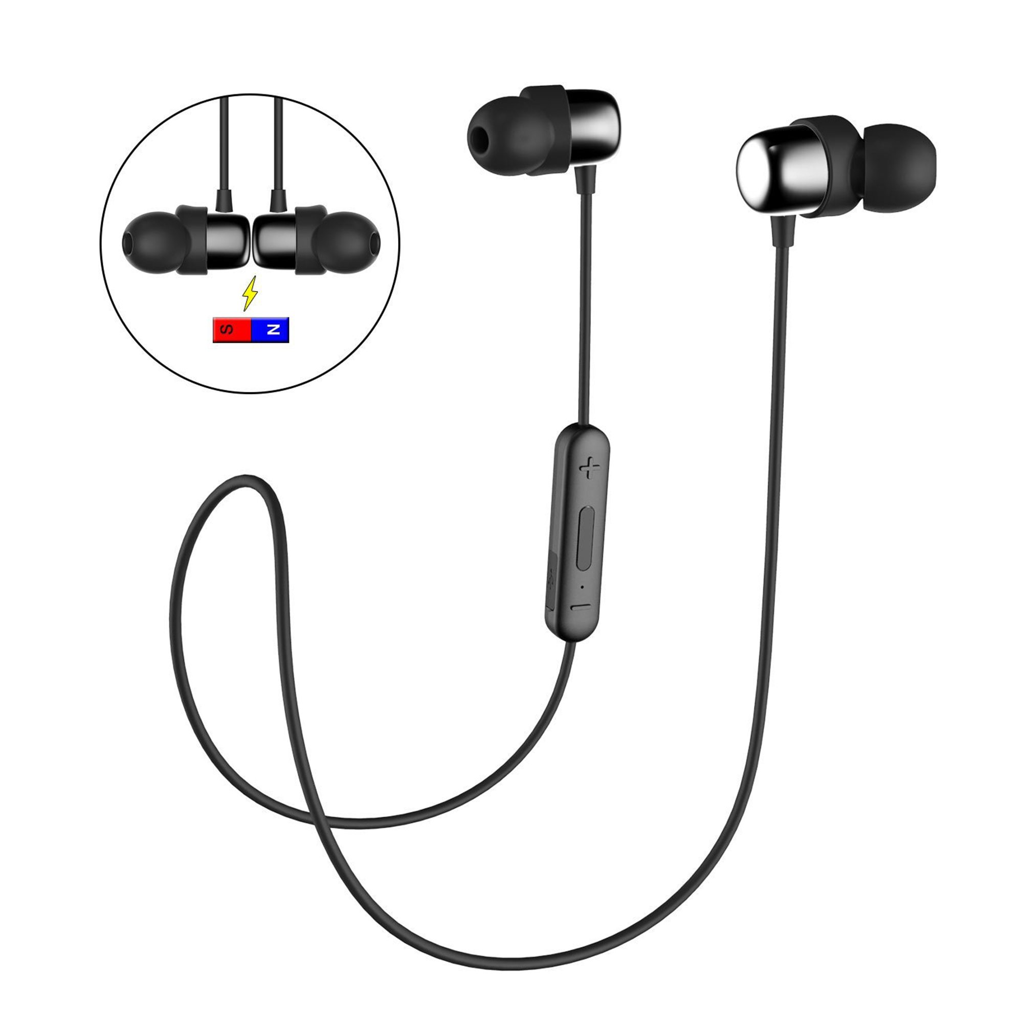 Havit I39 Bluetooth Wireless Ultra Lightweight In Earbuds For Running With Ip5x Bluetooth 4 2 Walmart Canada
