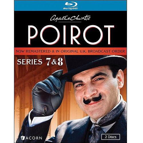 Agatha Christie's Poirot: Series 7 & 8 (Blu-ray) (Full Frame)