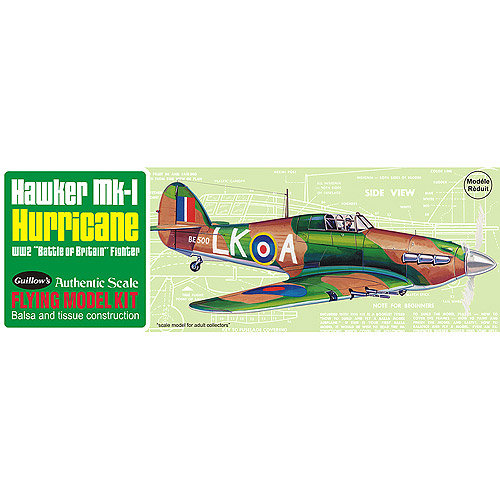 Guillow's Hawker MK-1 Hurrican Model Kit by Generic
