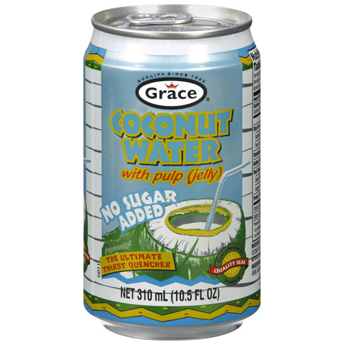 Grace Coconut Water with Pulp, 10.5 fl oz