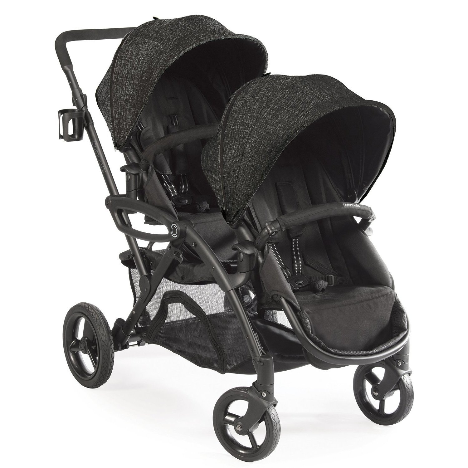 Kolcraft Contours Options Elite Tandem Stroller Carbon by Kolcraft