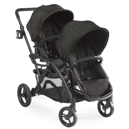 Contours Options Elite Tandem Stroller - Carbon ()