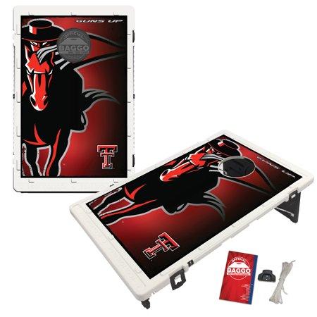 Texas Tech Red Raiders Bag - Texas Tech Red Raiders 2 'x 3' BAGGO Bean Bag Toss Game - No Size