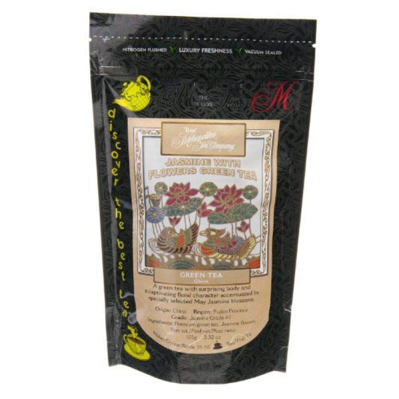 Metropolitan Tea Discovery Loose Tea Pack, Jasmine with F...