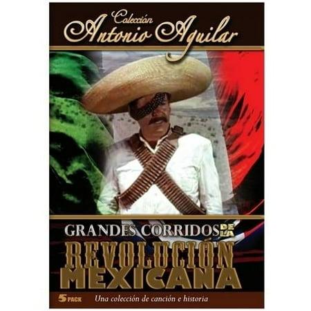 Grandes Corridos De La Revolucion Mexicana (5 Peliculas) (Spanish) for $<!---->