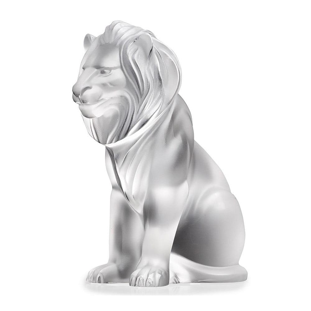 Lalique Sculpture CLEAR BAMARA LION #1165600
