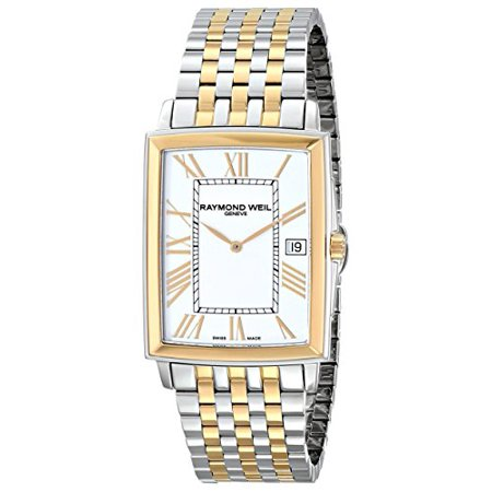 Men's 5456-STP-00308 Tradition Analog Display Swiss Quartz Two Tone Watch