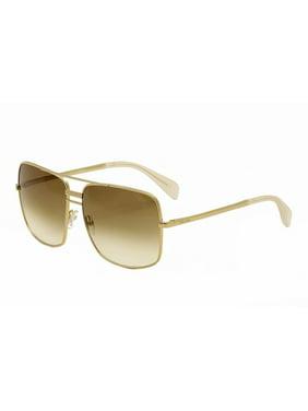 9bf985a490d Product Image Celine Women s 41808S 41808 S J5G XY Gold Smoke Flash Silver  Lenses Sunglasses