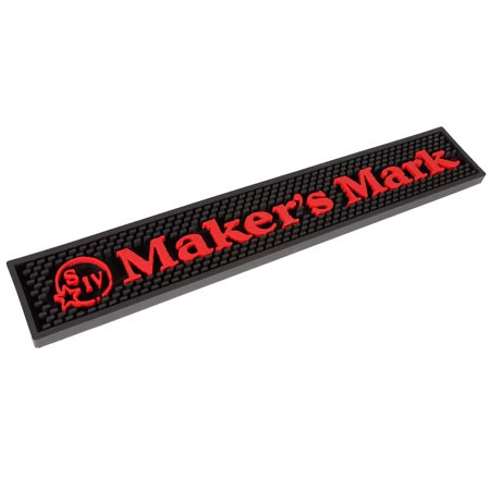 Maker's Mark Rubber Bar Mat