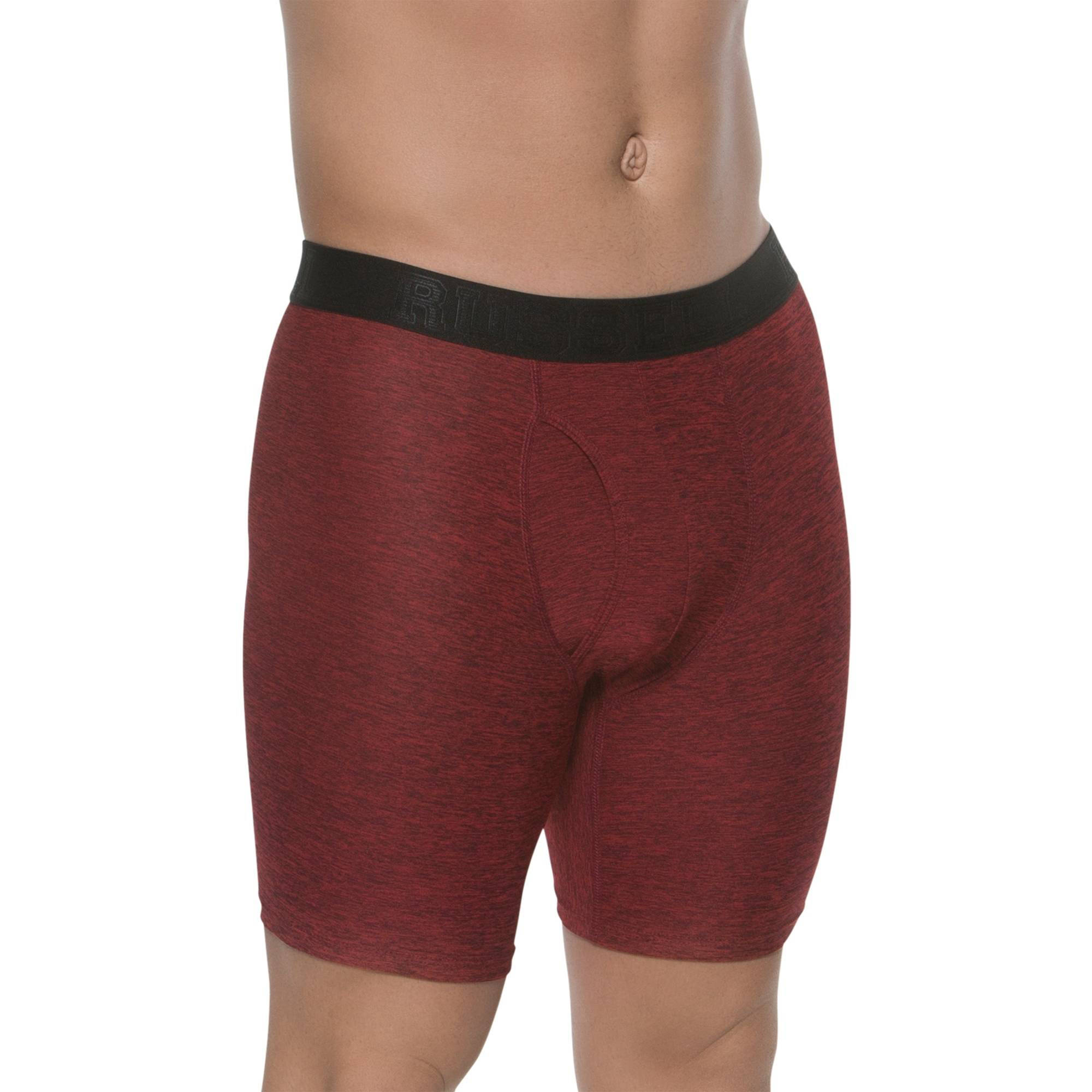 Russell Big Men's FRESHFORCE Perfomance Boxer Brief, 2XL by Generic