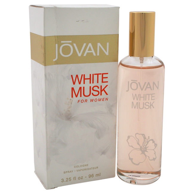 Jovan White Musk by Jovan for Women - 3.25 oz Cologne Spray