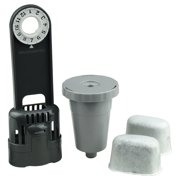 Water Filter Starter Kit and 1 Replacement Coffee Filter Set Compatible with Keurig My K-Cup B30 B40 B50 B60 B70 Series