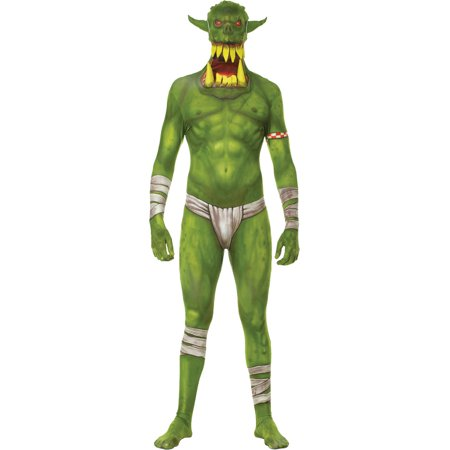 Green Morph Jaw Dropper Adult Halloween Costume - Walmart.com