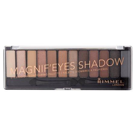 Rimmel London Magnifeyes Shadow 001 Keep Calm   Wear Gold Eyeshadow Contouring Palette  0 499 Oz