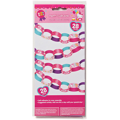 Hello Kitty Hanging Garland Party Decorations, Party Supplies