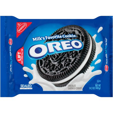 Nabisco Oreo Chocolate Sandwich Cookies  14 3 Oz
