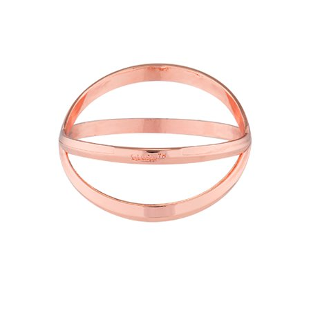 Criss Cross Bracelet Bottle Opener In Rose Gold