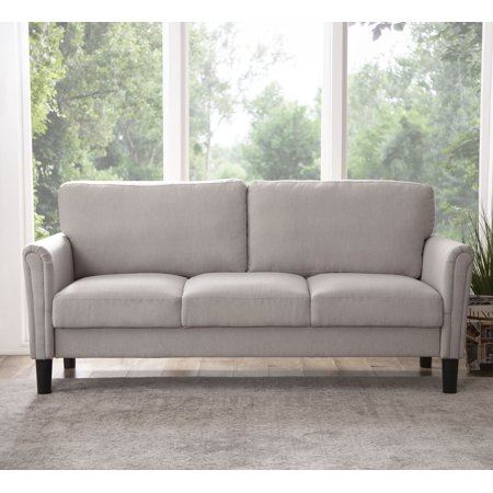 Taylor Fabric Sofa, Grey (01 Sofa)
