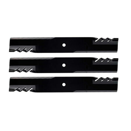 60 Inch Gator Mulcher Mower (3 Pack Oregon 396-771 G6 Gator Mulcher Mower Blade for John Deere M143504 62