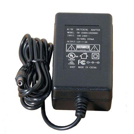 VideoSecu 12V DC 2A 2000mA 100V-240V AC Regulated Power Supply Adapter for Security Camera Home Surveillance System bpd