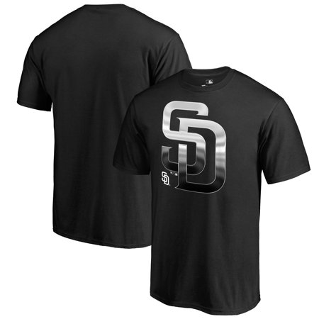 San Diego Padres Fanatics Branded Midnight Mascot T-Shirt - Black