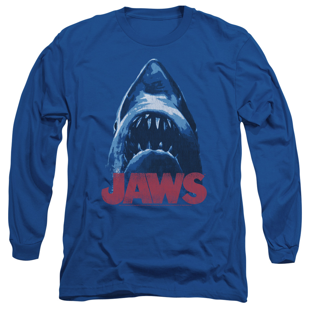Jaws From Below Mens Long Sleeve Shirt