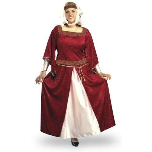 plus size juliet renaissance costume size 16-22