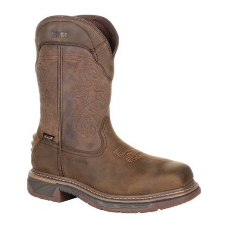 Men's Rocky Iron Skull Composite Toe Internal Met Guard Boot