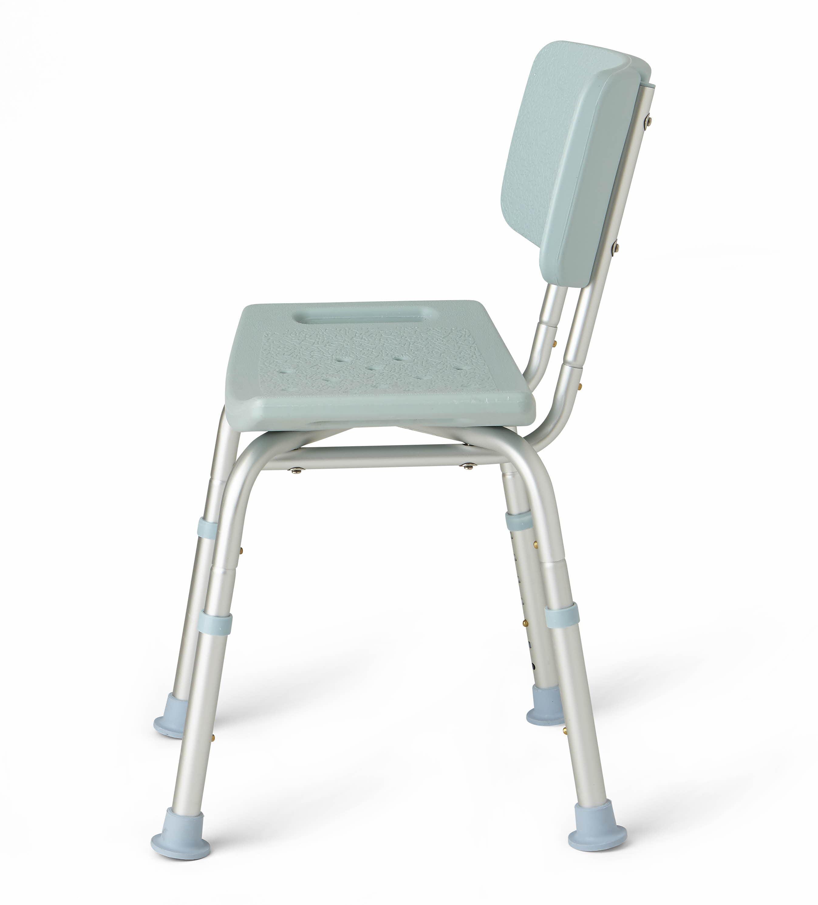 Medline Bath Chair with Microban Antimicrobial Treatment - Walmart com