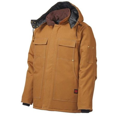 Fill Parka (richlu 553726br2x tough duck antarctica poly fill parka, brown - 2xl)