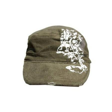 B-Star Unisex Vintage Cotton Cadet GI Style Hat Cap - (Various Styles)