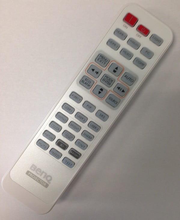 W1080ST Projector W1070 Original BenQ 5J.J7N06.001 Remote Control for W1500