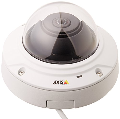 Axis 0514-001 M3006-V Surveillance/Network Camera M12-Mount (White)