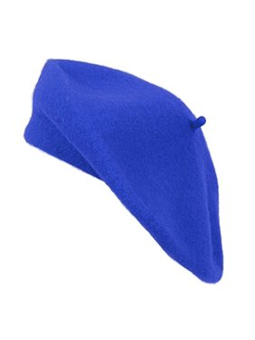 Ladies Solid Colored French Beret
