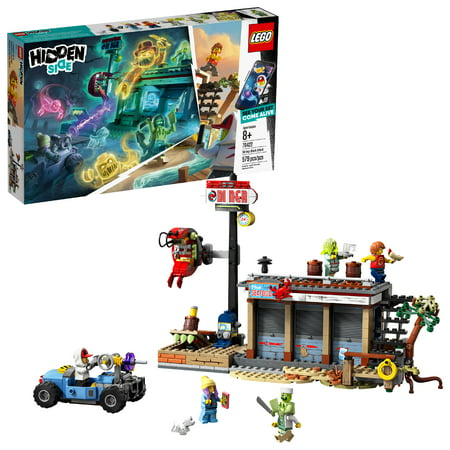 LEGO Hidden Side Shrimp Shack Attack 70422 AR Toy Building Set