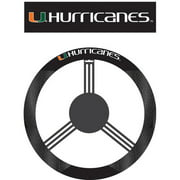 NCAA Miami Hurricanes Steering Wheel Cover