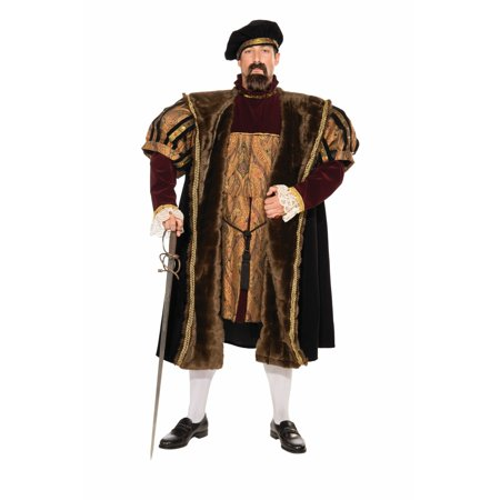 Halloween Henry VIII Adult Costume - Fort Henry Halloween
