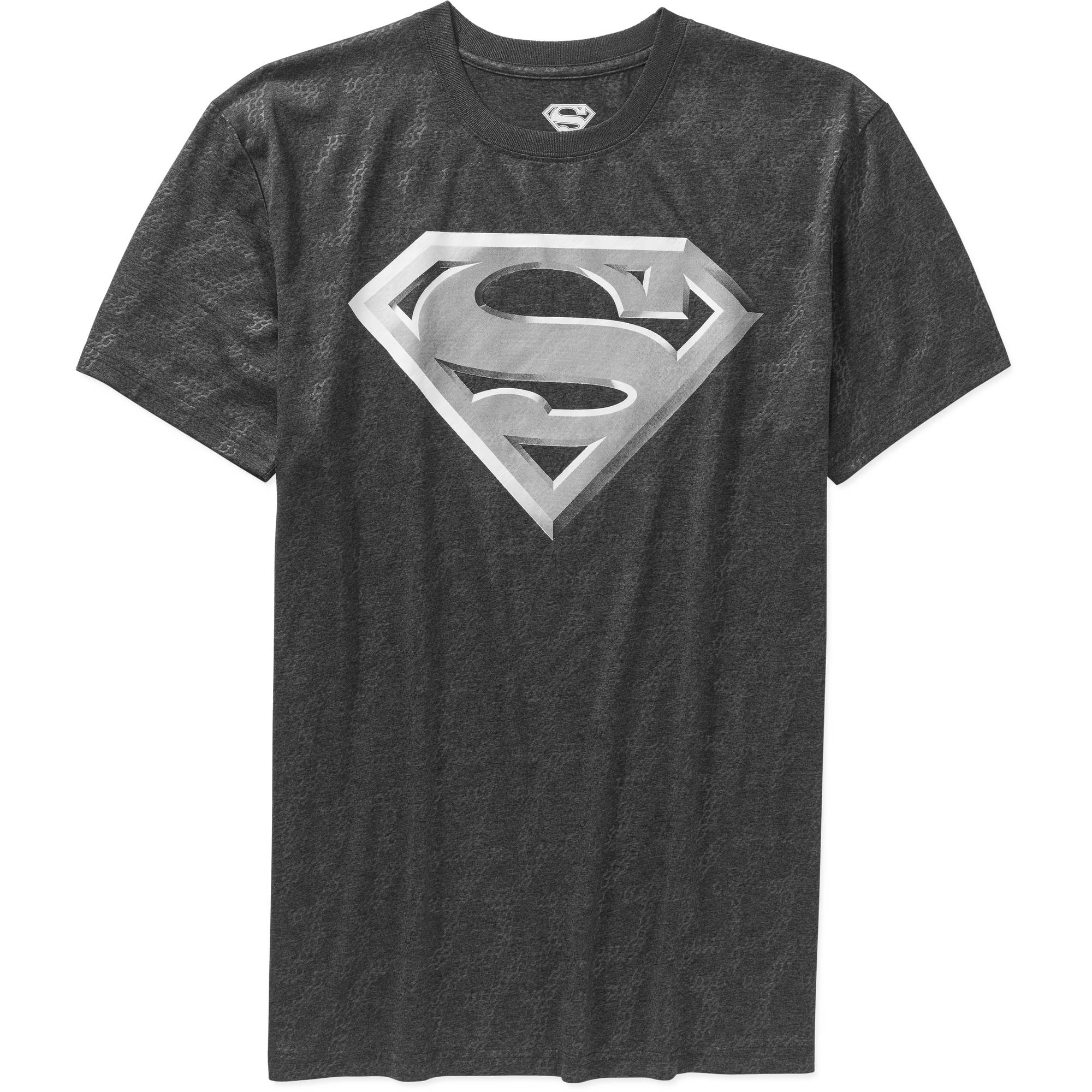 Superman Logo Cationic Men's Poly Graphic Tee