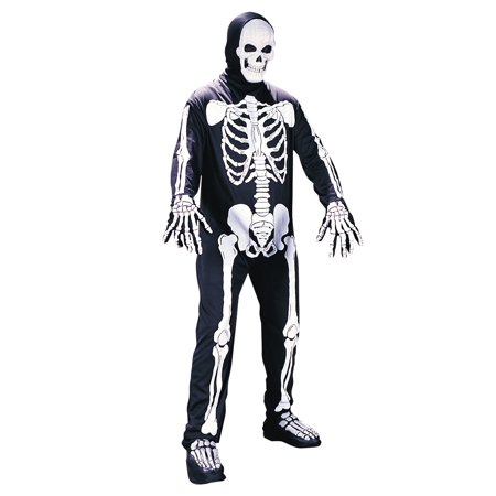 Plus Size Scary Skeleton Costume - Funny But Scary Halloween Costumes