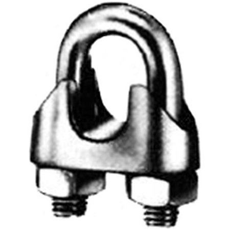 Indusco 252 00171 0.31 in. Rope Malleable Clip Wire - Zinc Plated - image 1 of 1