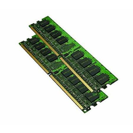 PNY Optima 4GB (2x2 GB) DDR2 800 MHz PC2-6400 Desktop DIMM Memory Module Dual Channel Kit - MD4096KD2-800