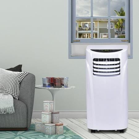 - Costway 10000 BTU Portable Air Conditioner & Dehumidifier Function Remote w/ Window Kit