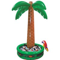 Jumbo Inflatable Palm Tree Cooler, Inflates then Packs up for Storage