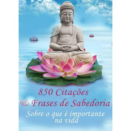 850 Citações e Frases de Sabedoria - Sobre o que é importante na vida -Pensamentos, provérbios, aforismos (Edição ilustrada) - eBook