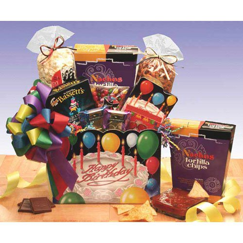Happy Birthday Gift Box by Gift Basket Drop Shipping