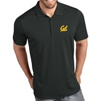 Antigua Men's Cal Golden Bears Grey Tribute Performance Polo